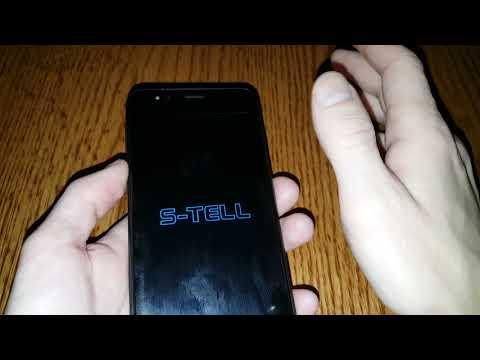 S-TELL C552 Hard Reset сброс настроек графический ключ пароль зависает тормозит висит на заставке