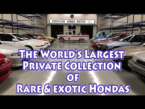 You Have Never Seen a Honda Collection Like This Before