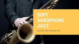 Background Saxophone - Relaxing Background - Piano Jazz for Studying Sleep Work