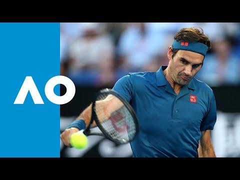 Roger Federer v Stefanos Tsitsipas first set highlights (4R) | Australian Open 2019 Mp3
