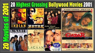 Top 20 Bollywood Movies Of 2001 | Hit or Flop | With Box Office Collection | Best Indian films 2001