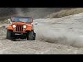 Jeep CJ6 Renegade Playing Around At The Beach | Løkken Beach Tour 2017