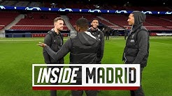 Inside Madrid: Reds arrive for Champions League Last 16 tie | Atletico vs Liverpool
