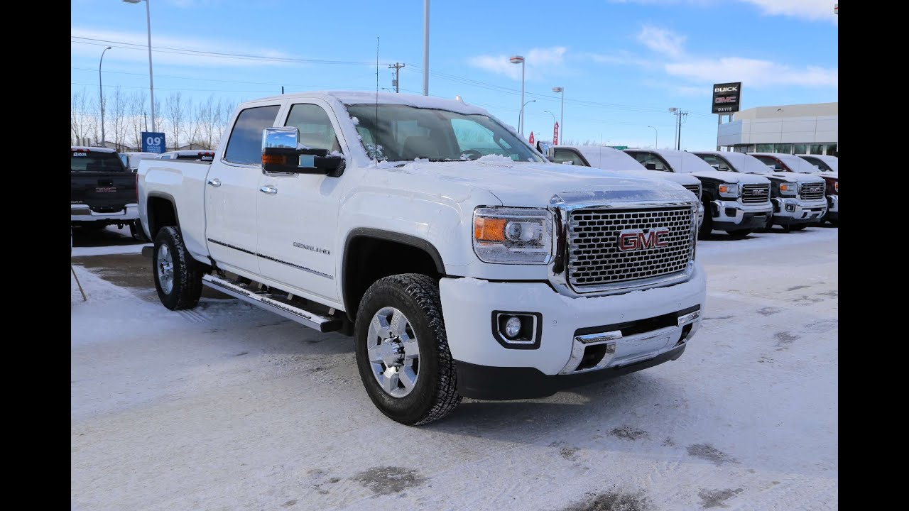 Gmc 3500 Denali Diesel For Sale >> Brand New 2016 Gmc Sierra 3500hd Denali For Sale In Medicine Hat
