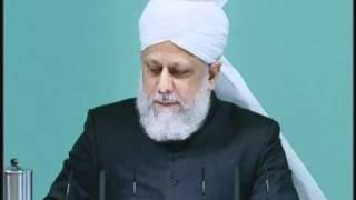 Friday Sermon: 12th November 2010 - Part 2 (Urdu)