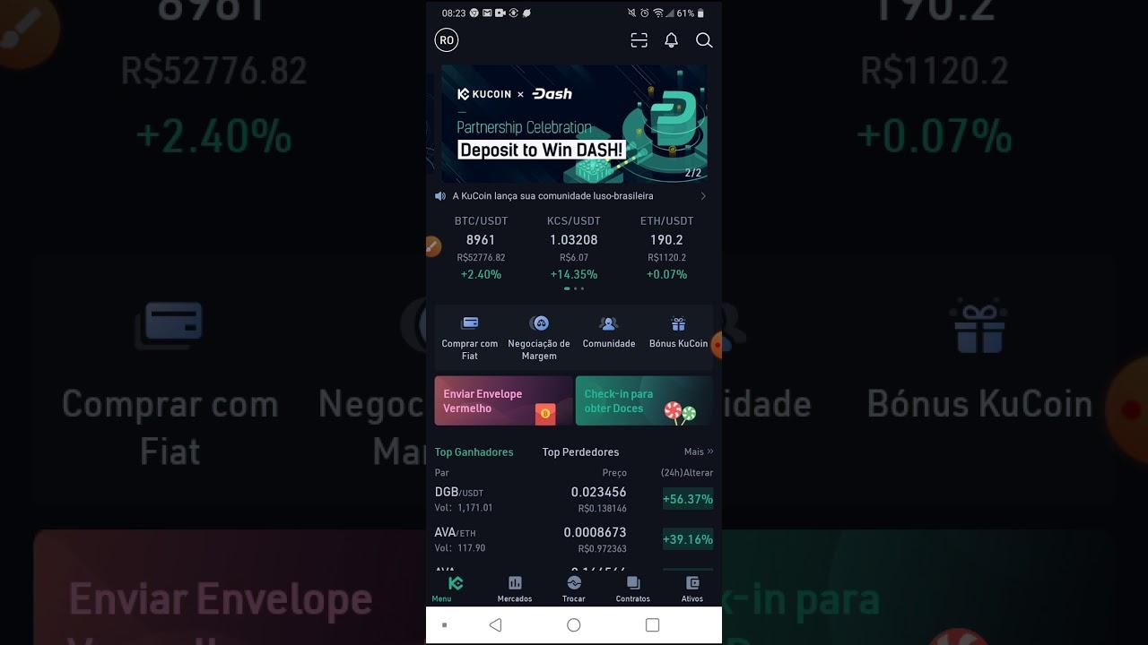 KUCOIN PAGANDO COMISSÃO SOBRE SEUS INDICADOS. 2020 9