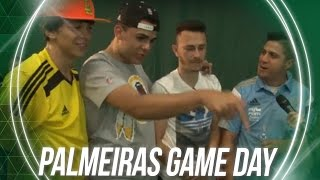 A íntegra da transmissão AO VIVO do PALMEIRAS GAME DAY