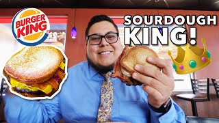 Video Does Burger King's New Sourdough King sandwich deserve the crown? - Full Nelson Eats A Lot download MP3, 3GP, MP4, WEBM, AVI, FLV Mei 2018