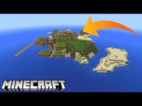 Minecraft Console - Village At Spawn - Survival Island Seed (Minecraft PS4,  Xbox One, PS3, Xbox 360)