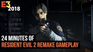 24 Minutes of Resident Evil 2 Remake Gameplay