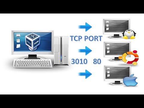 Como reenviar o redireccionar puertos en VirtualBox