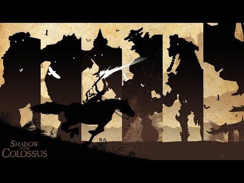 Shadow of the Colossus   Мелкий раздаёт люлей большим дядькам