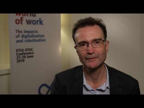 Simon Deakin, Professor of Law, University Cambridge, on labour law and technological change