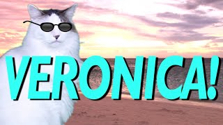 HAPPY BIRTHDAY VERONICA! - EPIC CAT Happy Birthday Song