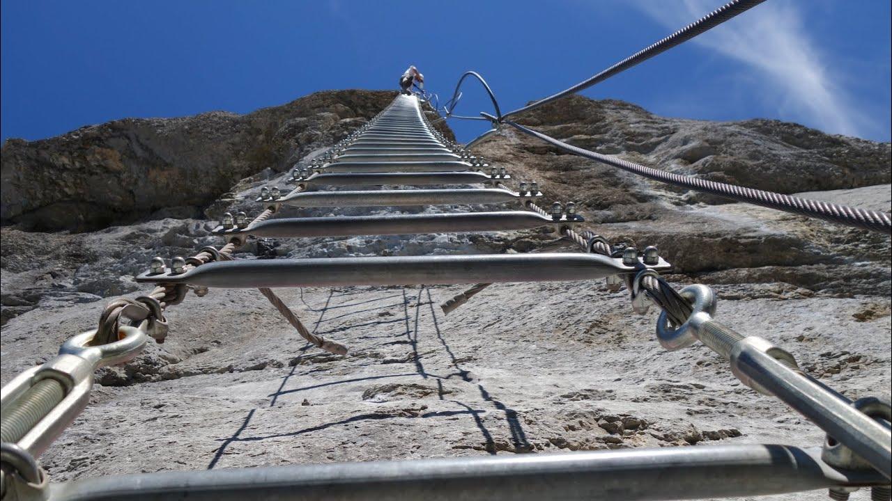 Klettersteig Engelberg : Fürenwand klettersteig engelberg schweiz youtube