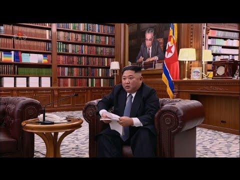 North Korea's leader warns US in NY speech
