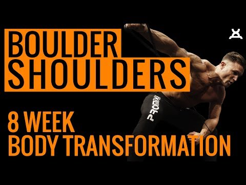 BIG SHOULDERS WORKOUT | 8 Week Body Transformation