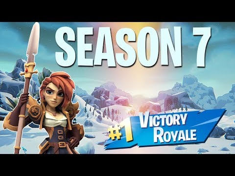 SNOW IS HERE IN FORTNITE! SEASON 7 COUNTDOWN!