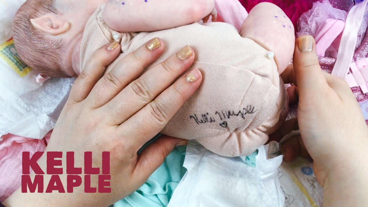 Kelli Maple Painted Us Cupcake Fairy Fantasy Reborn Doll