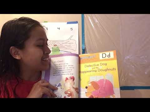 Read With Sam: Dd - Detective Dog And The Disappearing Doughnuts 🍩 🐶