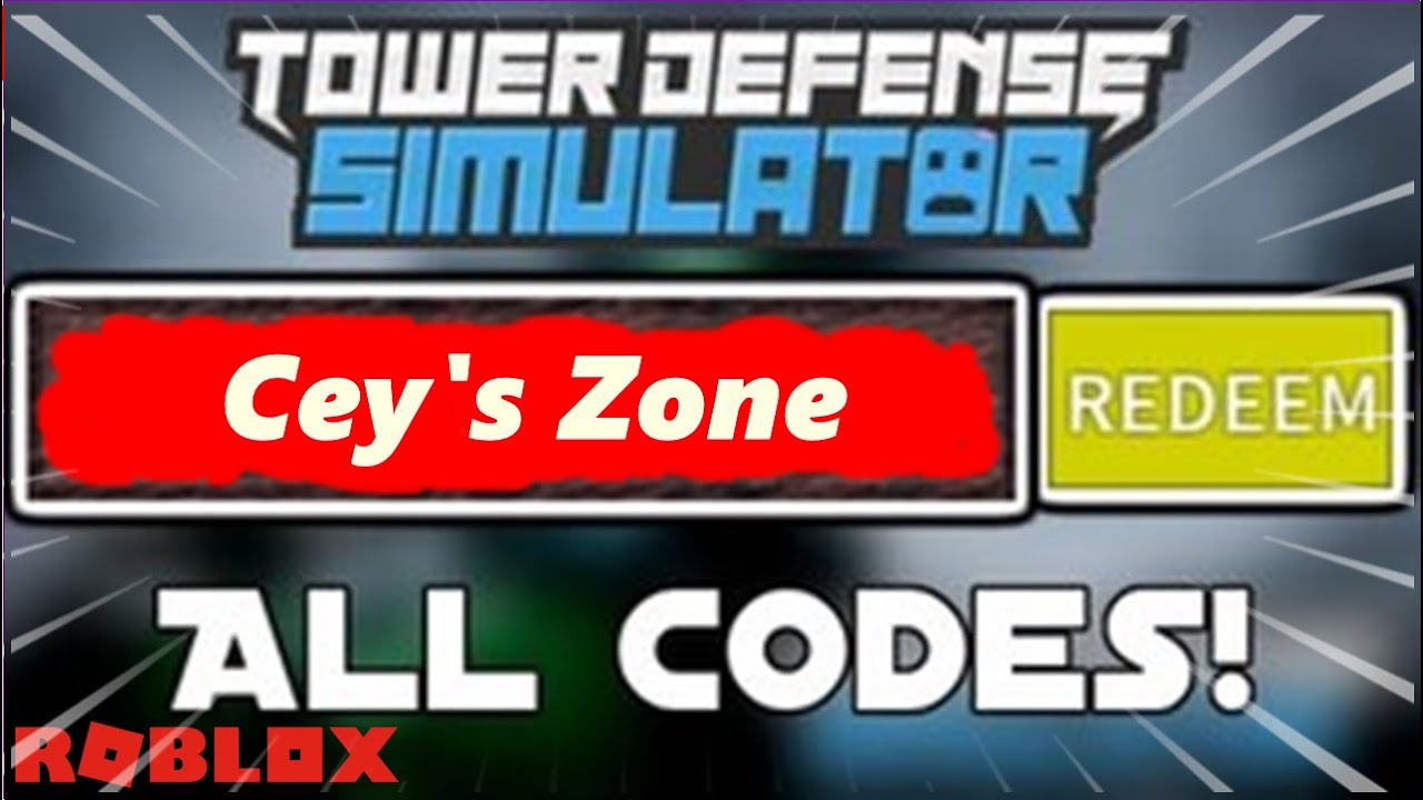 All New Tower Defense Simulator Codes April 2020 Roblox