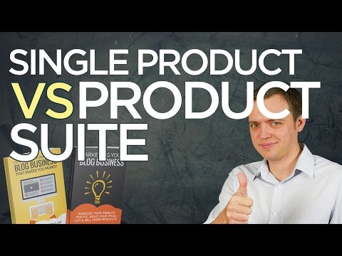 Single Product Idea vs Running a Real Business (Product Suite)