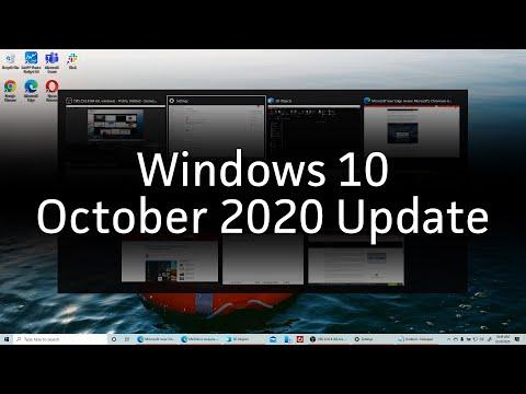 Windows 10 October 2020 Update: 5 biggest changes