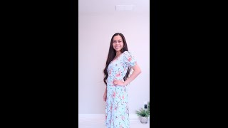 HOW TO TAKE IN A DRESS, RESIZING A DRESS, DRESS ALTERATIONS, #Shorts SEW ALDO DRESS