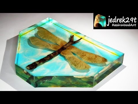 DragonFly in Epoxy Resin. DIY / ART RESIN