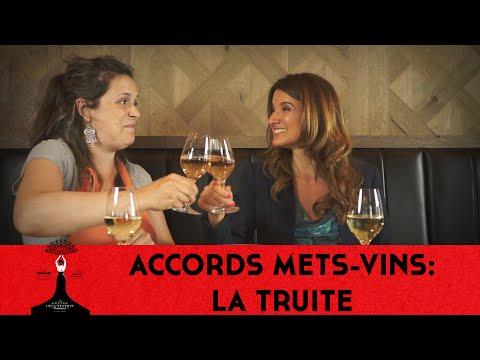 Accords Mets-vins: La Truite