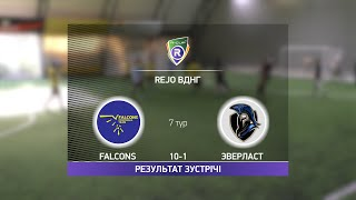 Обзор матча Falcons Эверласт Турнир по мини футболу в Киеве