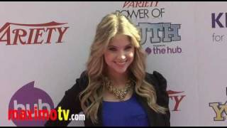 ASHLEY BENSON at 4th Annual Power of Youth Event