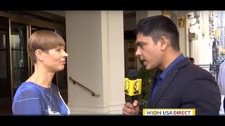 WION exclusively in conversation with Estonia's President Kersti Kaljulaid