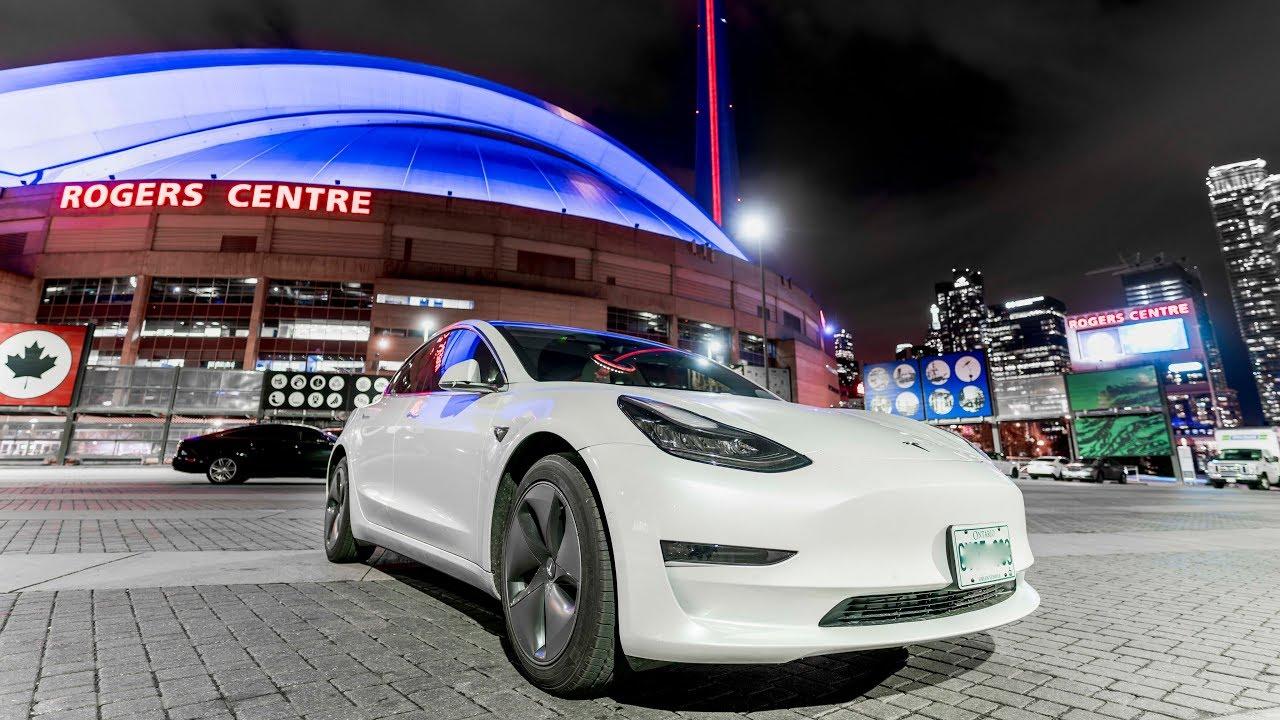 Delivery of my Tesla Model 3 Long Range | TESLA IN TORONTO ...