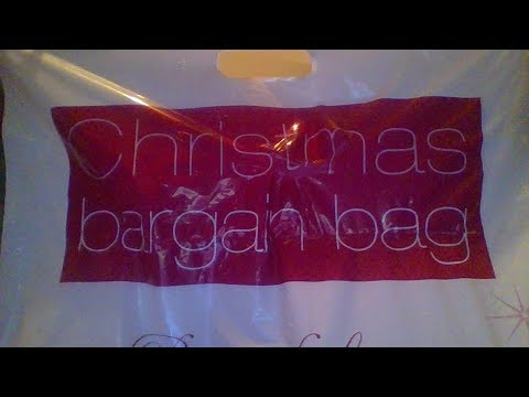 AVON CHRISTMAS  BARGAIN BAG OPENING (NOT HAPPY)