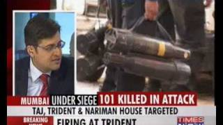 Mumbai Terror Attack - Part 3 - Discussion on TIMES NOW- 27 November 2008