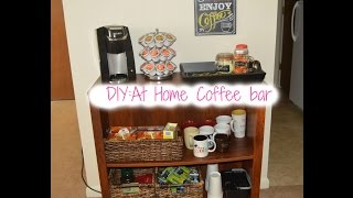 Diy: At Home Coffee Bar!!♡