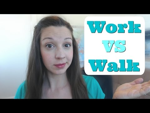 Work VS Walk: Advanced English Pronunciation Lesson