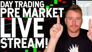 DAY TRADING LIVE SHOW!