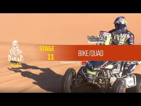 Dakar 2020 - Stage 11 (Shubaytah / Haradh) - Bike/Quad Summary