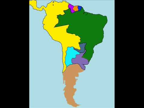 sudamerica evolution