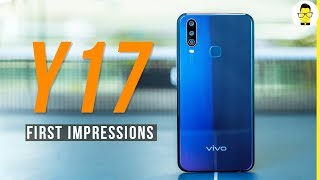 Vivo Y17: Hands-on review, camera samples, PUBG gameplay, benchmarks, and more..