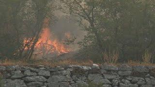 Požari u okolici Trebinja prijete objektima i u susjednoj Hrvatskoj