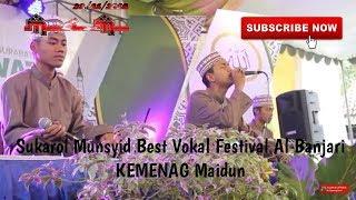 Download Video Best Vokal Sukarol Munsyid Mojokerto Fesban KEMENAG Madiun MP3 3GP MP4
