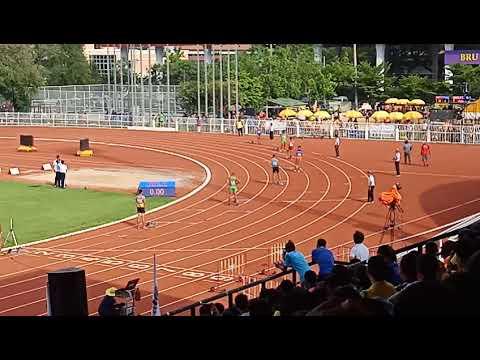 """400 เมตร กีฬาเยาวชนเเห่งชายครั้งที่35 """"บุรีรัมย์เกมส์"""" 47.52วิ"""