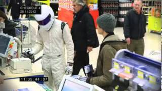 Spotted   The Stig in Tesco Extra  ABC NEWS