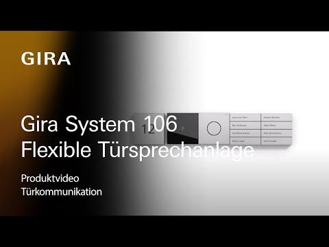 Das Gira System 106 - Modulare und flexible Türsprechanlage