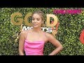 Jasmine Sanders Aka Golden Barbie Walks The Red Carpet At The 2020 Gold Meets Golden Party