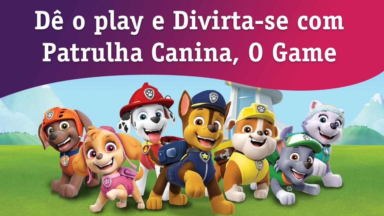 Dê o play e Divirta-se com Patrulha Canina, O Game - Nick Jr.