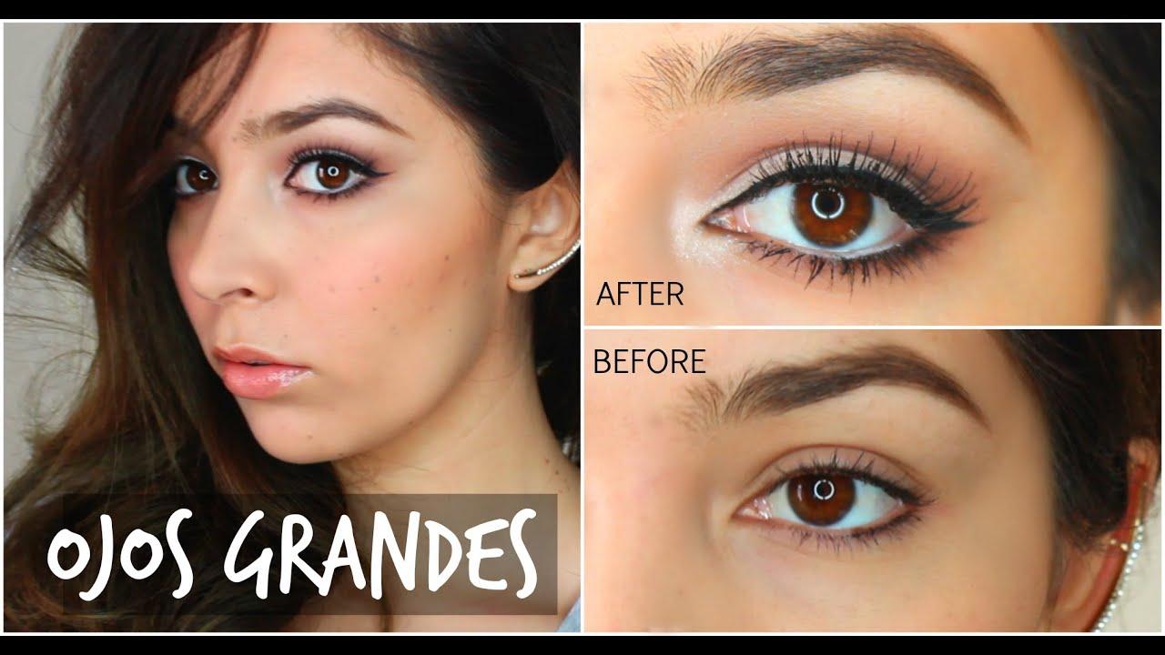 maquillaje rapido de ojos
